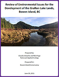 conservancy environmental report